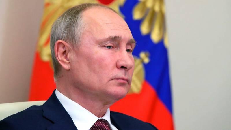 Владимир Путин ответил детской поговоркой на оскорбление Джо Байдена