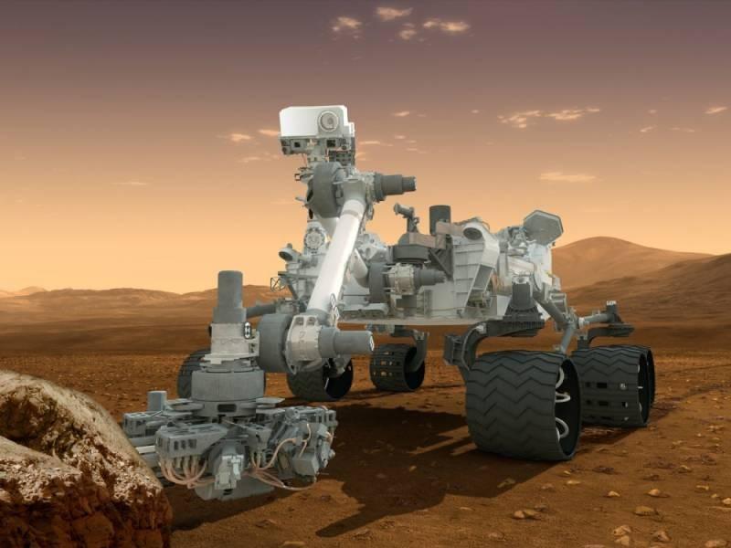 Что нашел американский марсоход