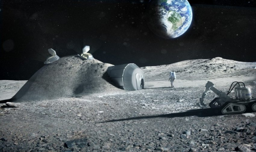 """""""Лунный ковчег"""" - проект по созданию генного хранилища на Луне"""