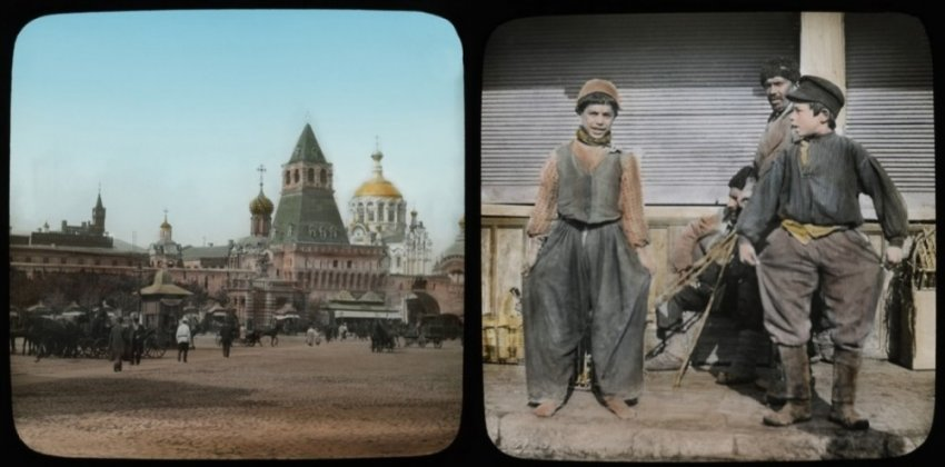 Редкие кадры Российской империи сделанные шведом Карлом Берггреном