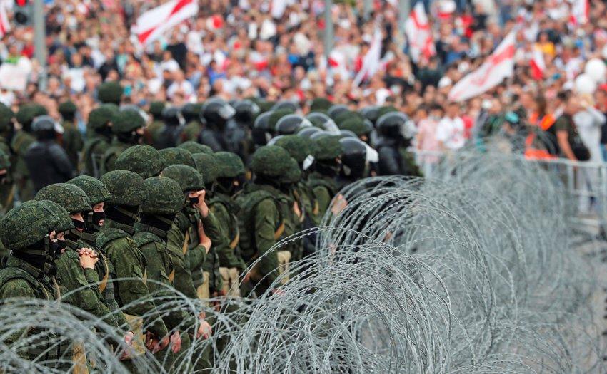 Протесты в Беларуси: оппозиция отказалась от централизованного марша