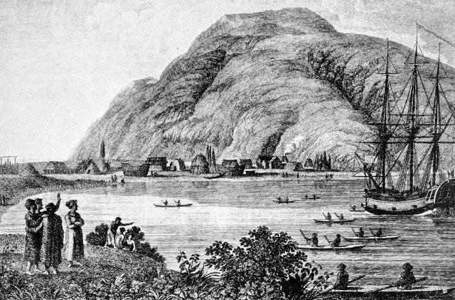 Откуда на Аляске появились поселения людей до ее открытия