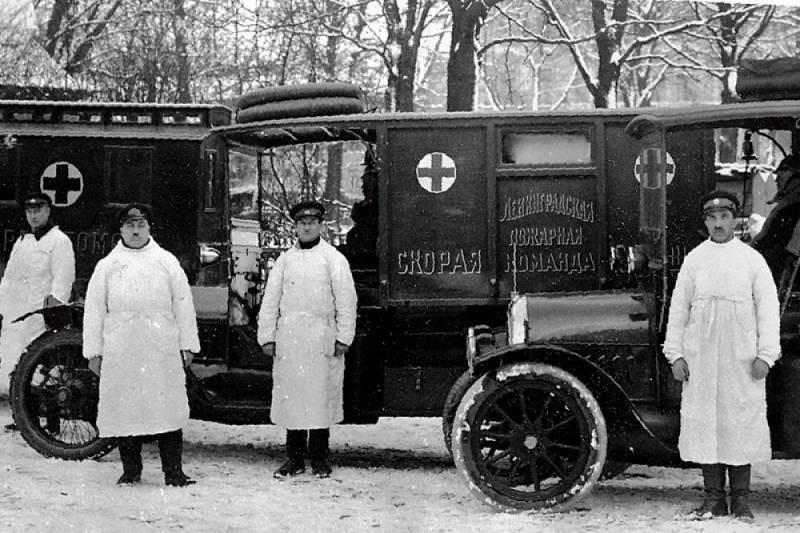 Когда появилась первая скорая помощь в России