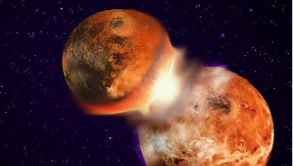 Странный взрыв на Луне удалось рассмотреть монахам в Средневековье