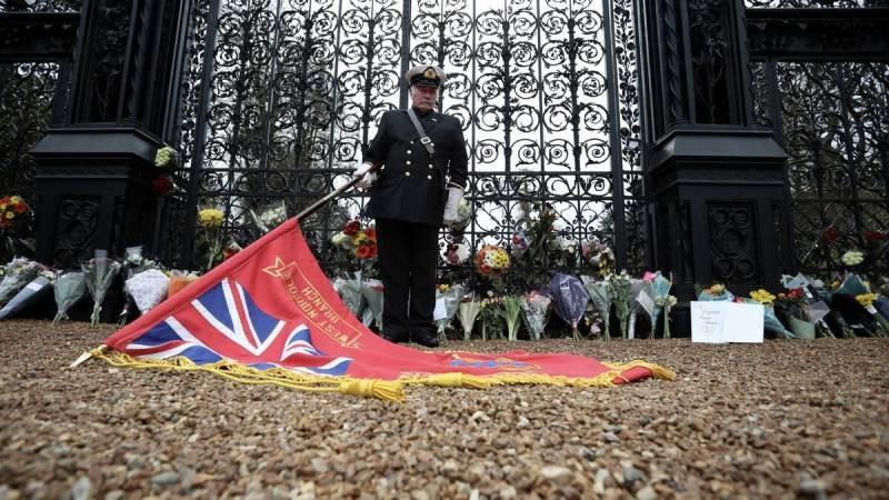 Похороны принца Филиппа 17 апреля 2021 года