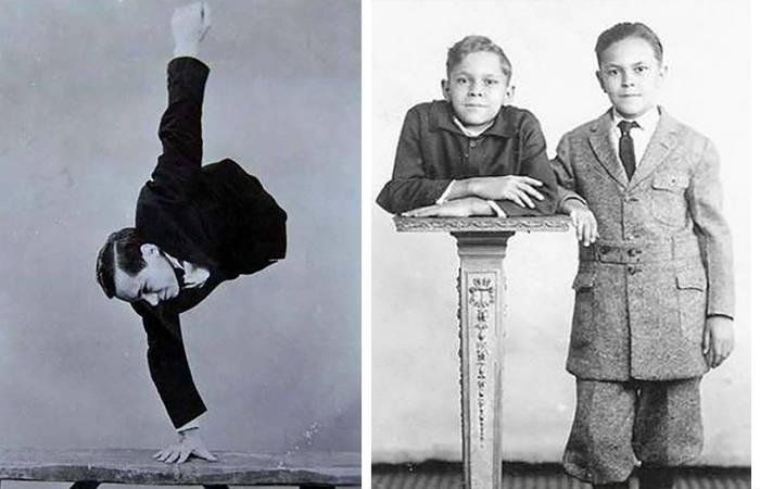 Джон Экхард: «полумальчик» полуметрового роста, всю жизнь ходивший на руках