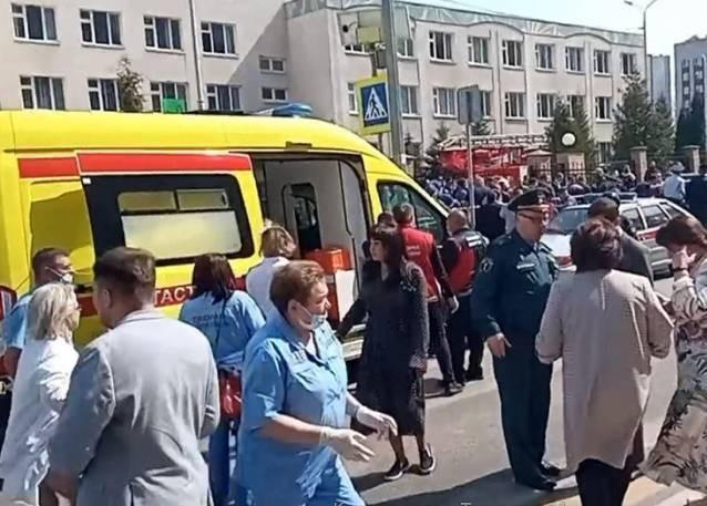 В Казани в школе произошла стрельба: 10 человек погибли