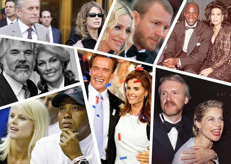 Истории чрезвычайно финансов затратных разводов знаменитых людей