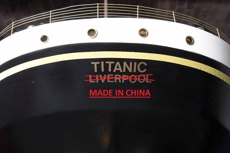 Зачем в Китае строят точную копию океанского лайнера Titanic в тысяче километров от моря
