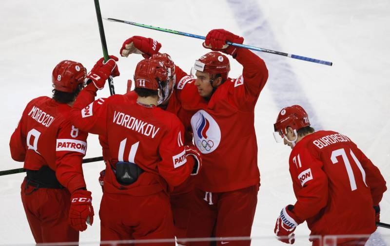 Россия разгромила Великобританию в чемпионате по хоккею 22 мая 2021 года