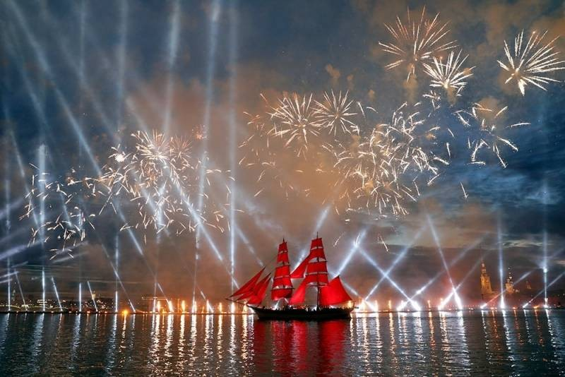 Когда состоится праздник для выпускников «Алые паруса» в 2021 году в Санкт-Петербурге