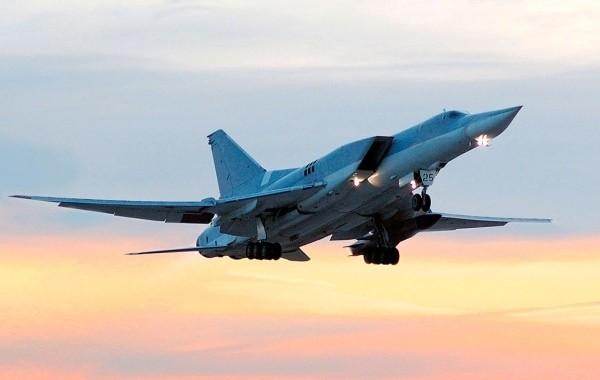 В небе над Сирией заметили российские бомбардировщики