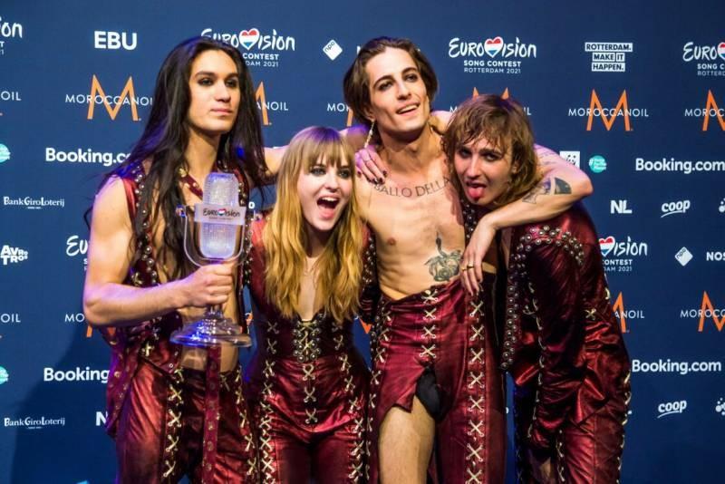 Чем покорила европейцев гламурная рок-группа Maneskin из Италии на Евровидении-2021