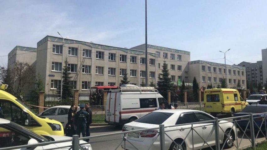 В казанской школе 19-летний подросток открыл огонь по детям и учителям