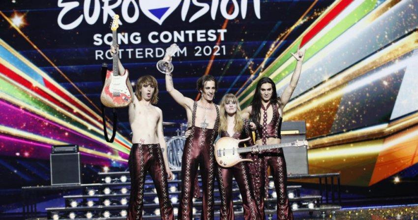 Таблица голосов на музыкальном конкурсе «Евровидение» в мае 2021 года