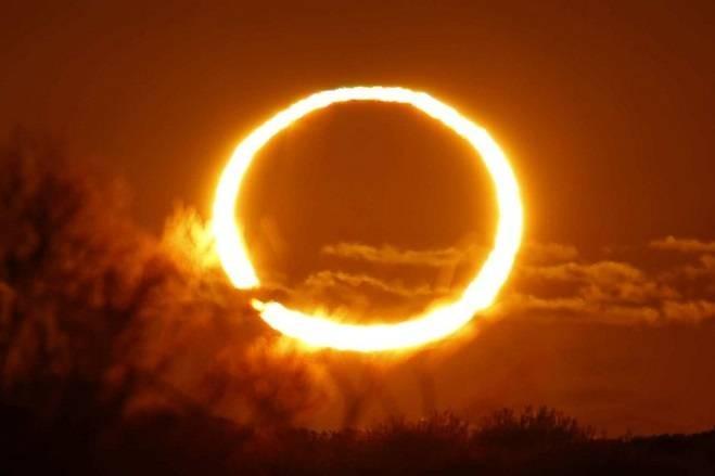 Кольцеобразное солнечное затмение 10 июня 2021 года: во сколько и в каких регионах можно наблюдать