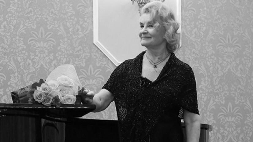 Певица и педагог Римма Волкова погибла в ДТП под Санкт-Петербургом