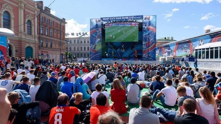 Фан-зона для болельщиков на «Евро 2021» будет работать в Санкт-Петербурге