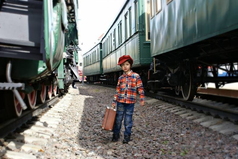Как могут путешествовать дети на поездах дальнего следования летом 2021 года в России