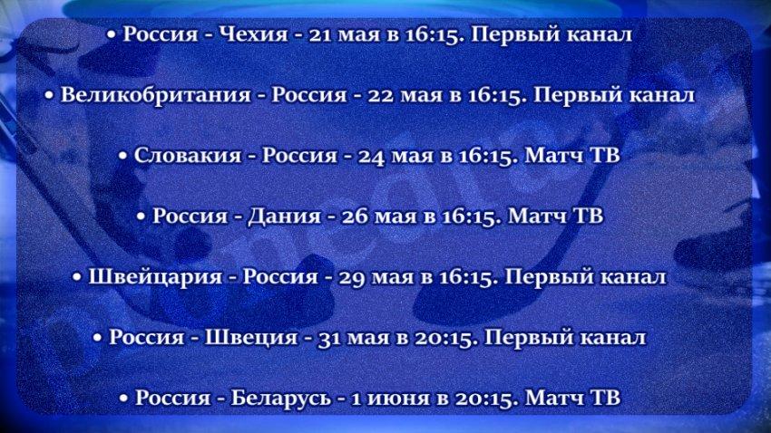 Последние результаты чемпионата мира по хоккею в Латвии в 2021 году