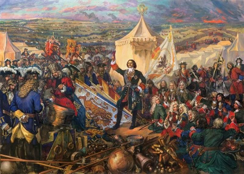 В России День победы русской армии над шведами в Полтавском сражении празднуют 10 июля 2021 года