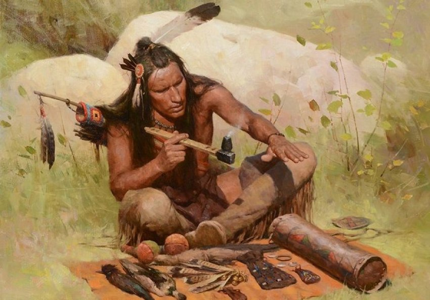 Чем болели и как лечились американские индейцы