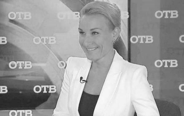 Скончалась телеведущая Анастасия Анисимова