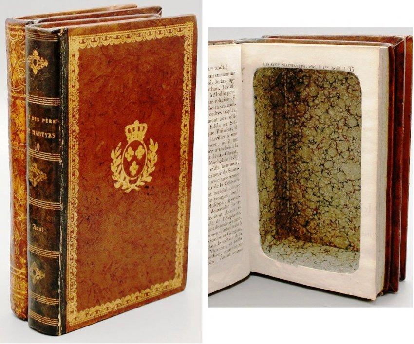 Старинное искусство книжных муляжей